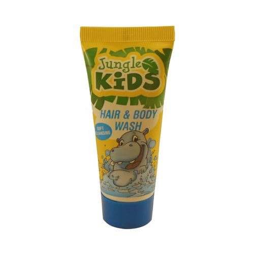 Jungle Kids Hair & Body, Kindershampoo Reisegrösse (30 ml)