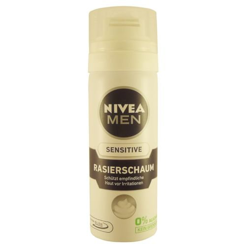Nivea Men Mousse à Raser Sensitive, taille de voyage (50 ml)